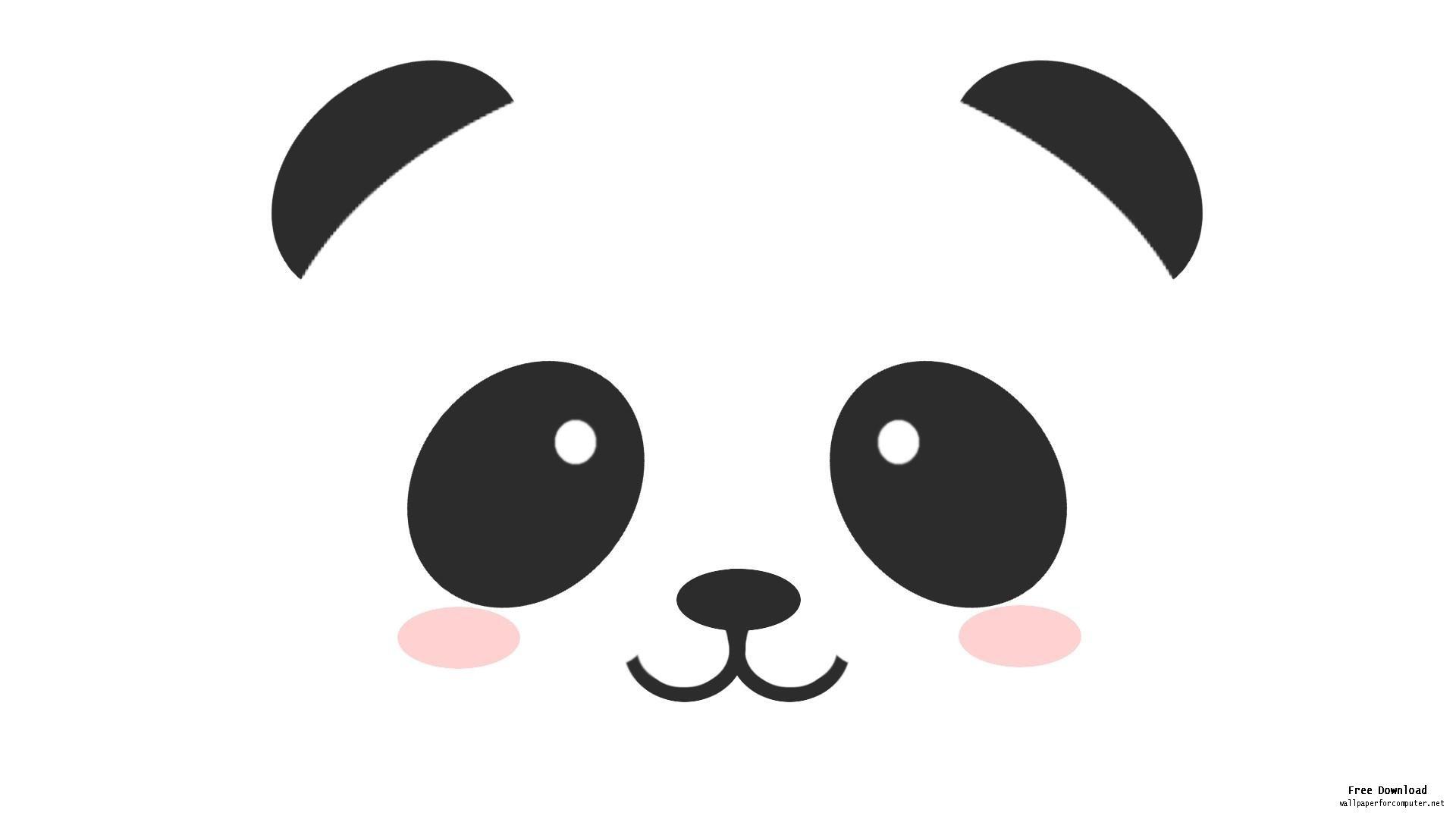 Cute panda clipart 2