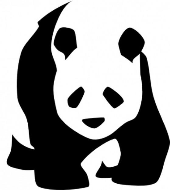 Cute panda clipart 8