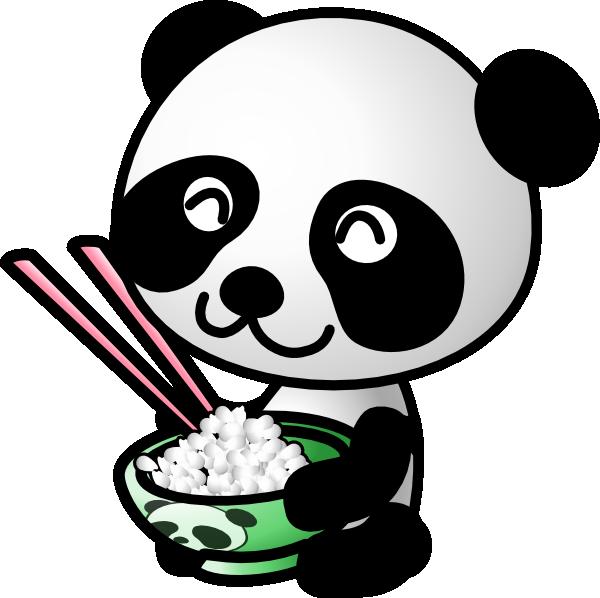 Cute panda clipart clipartmonk free clip art images