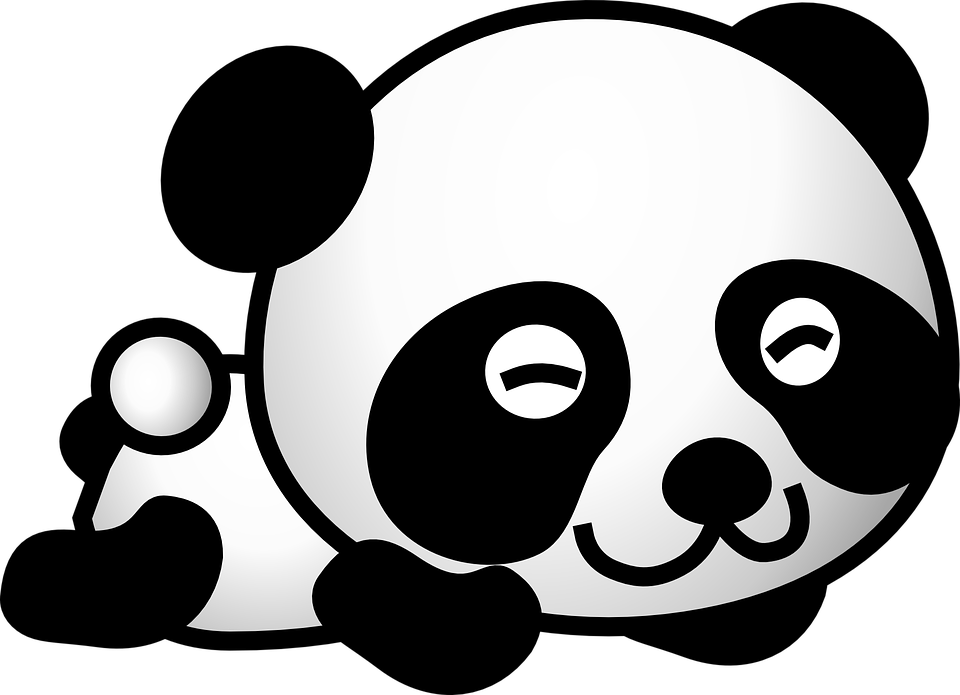 Cute panda free illustration panda clipart face animal image on