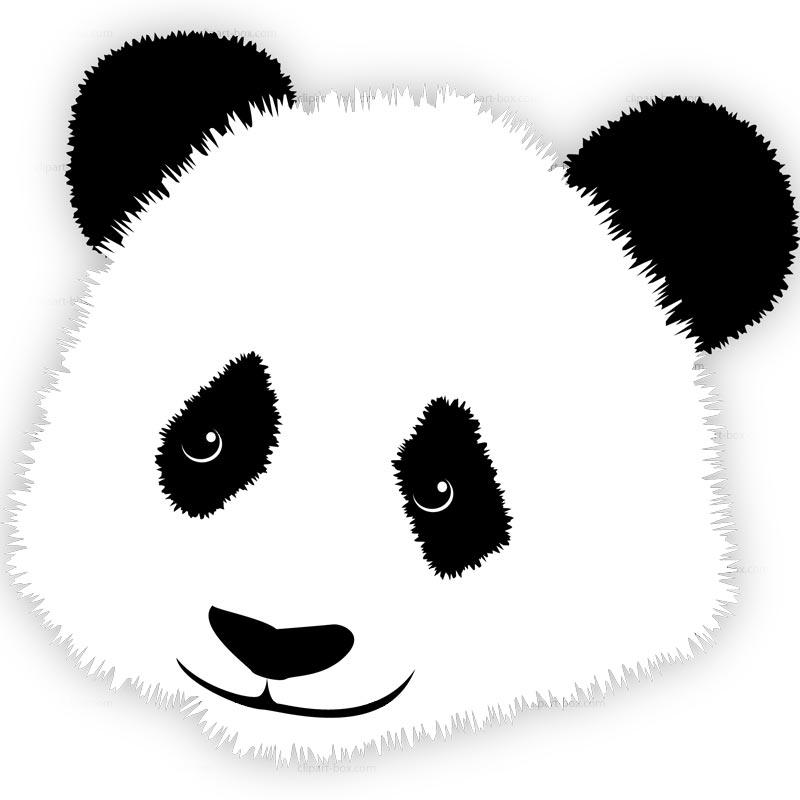 Cute panda panda clip art clipartbold