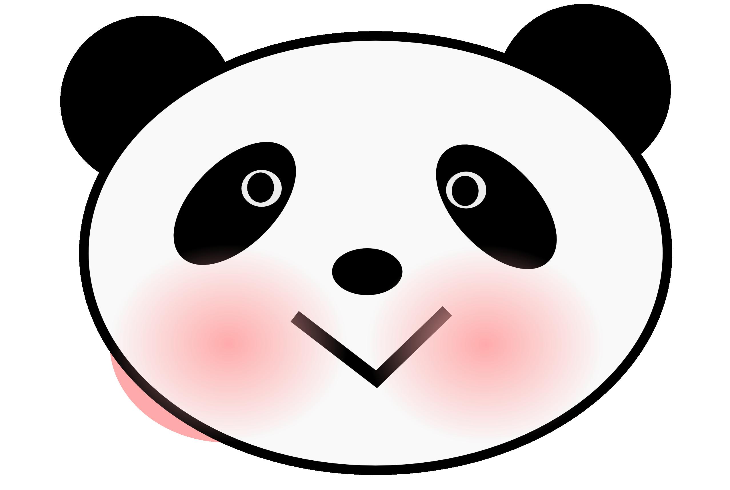 Cute panda panda clipart free images 3