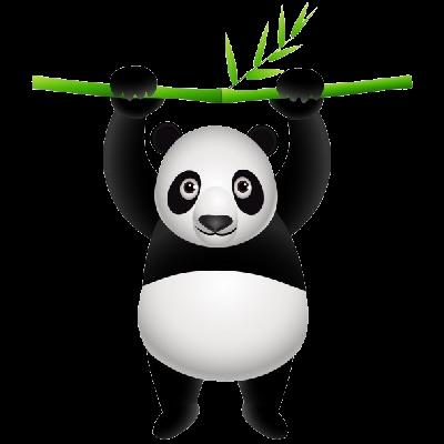 Cute panda panda cute clipartfest 4 2