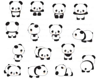 Cute panda pandas clip art panda clipart cute