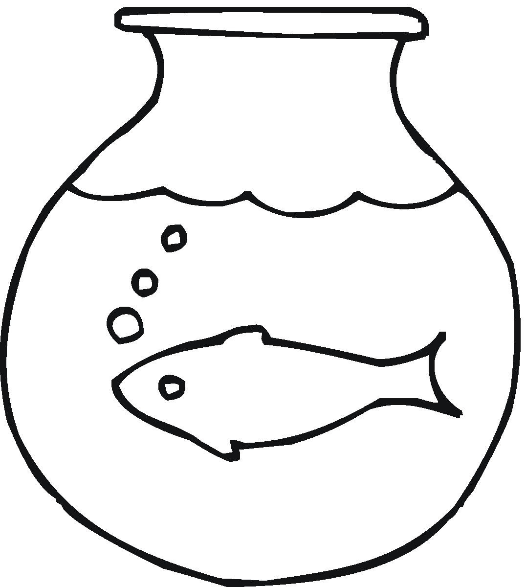 Fish black and white fish bowl clipart black and white free