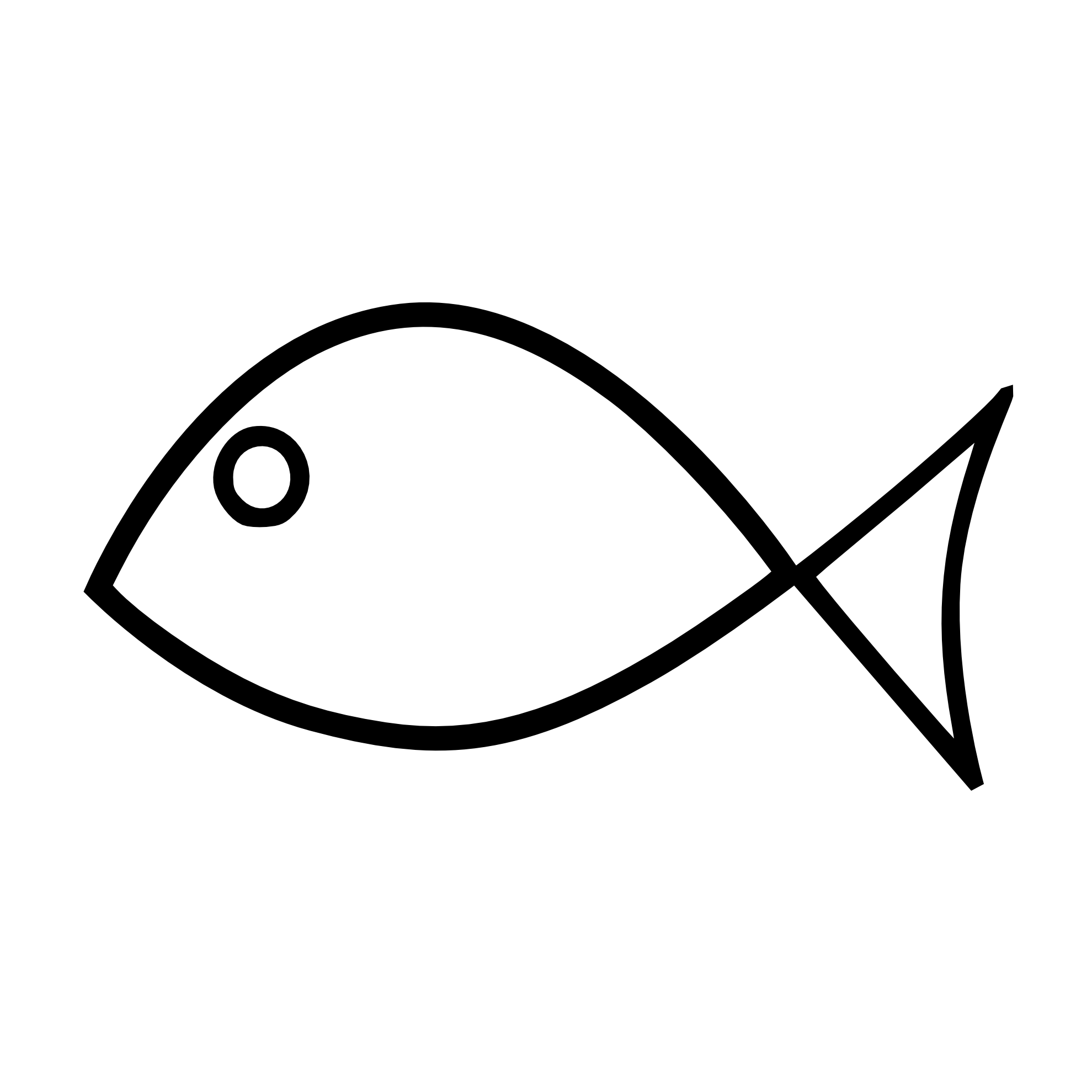 Fish black and white fish outline clipart black and white free 3