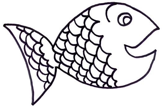Fish black and white free fish clipart 1 page of