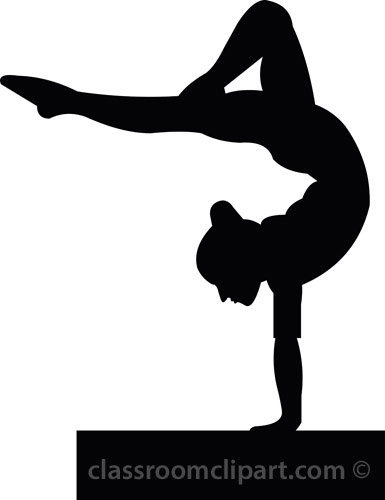 Gymnastics clipart tumbling free images 8
