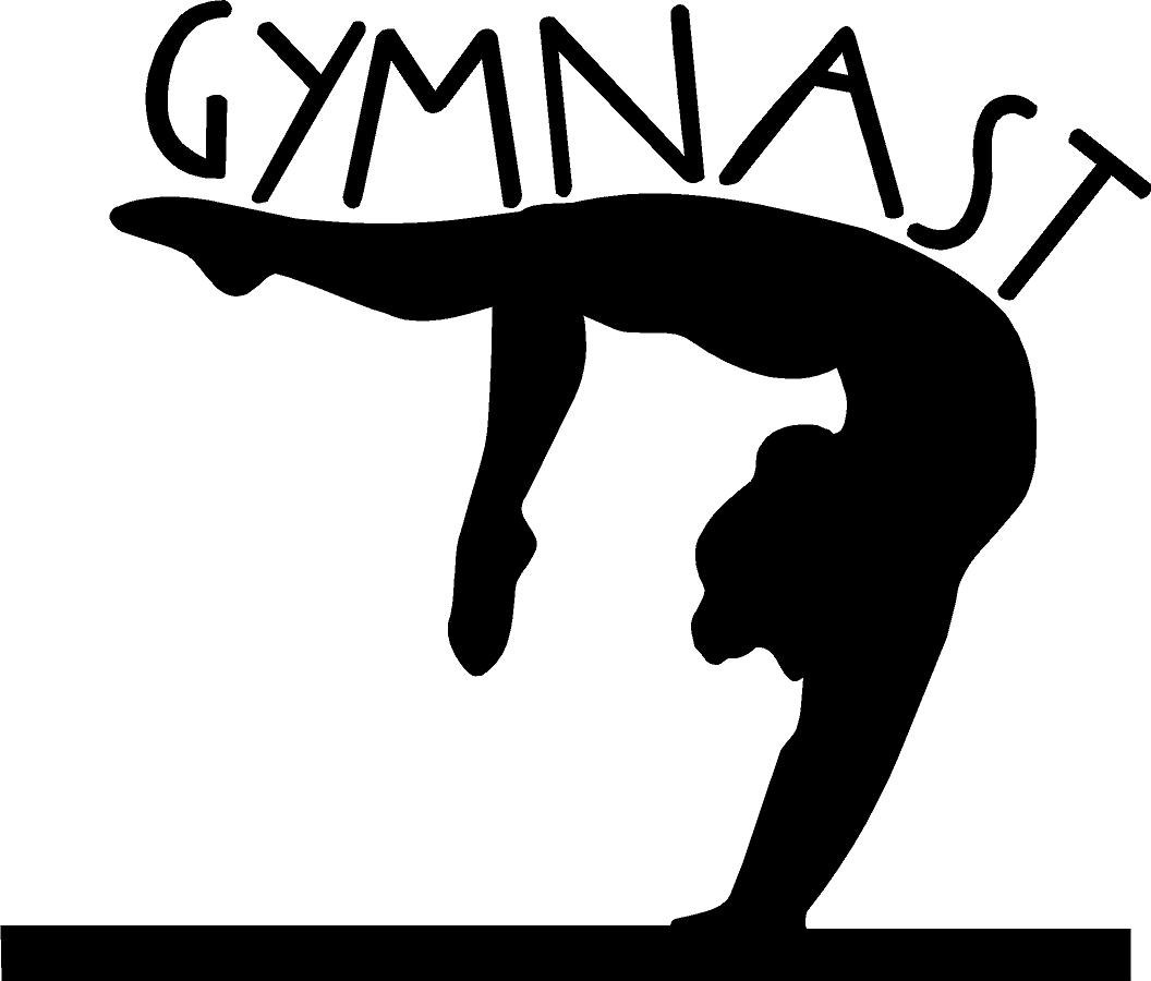 Gymnastics clipart tumbling free images 9