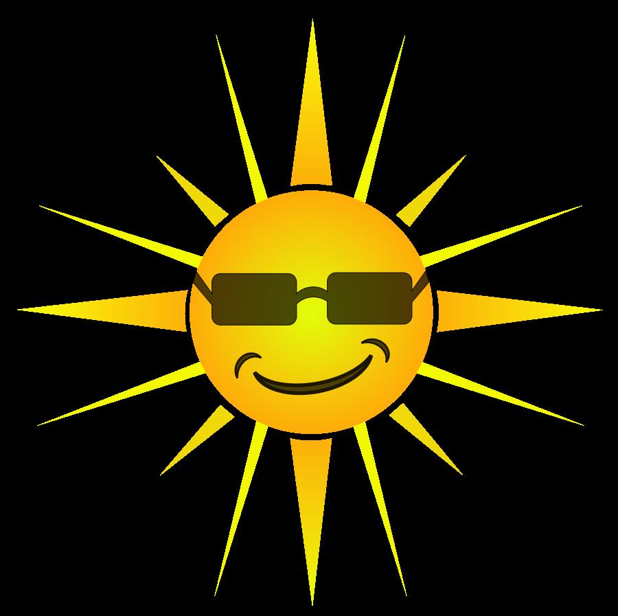 Happy sun clip art free clipart images