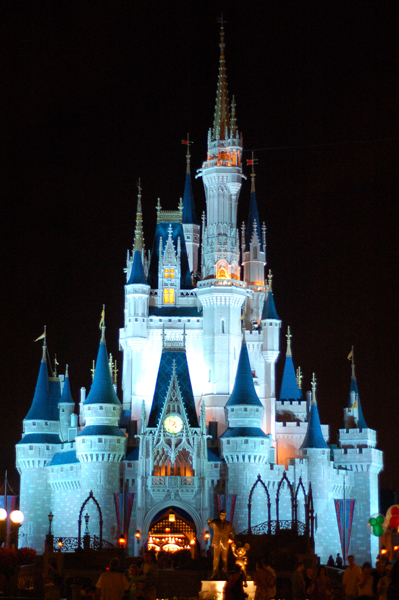 Nighttime shots of cinderella castle needed clip art