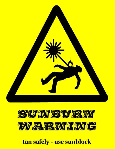 Sunburn clip art download