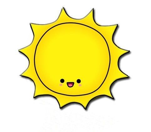 Sunshine happy sun clipart image 7