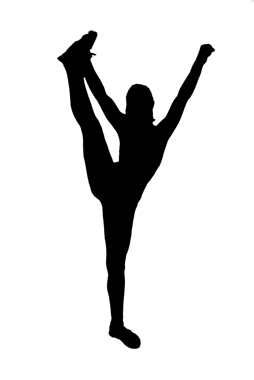 Tumbling free cheerleading clip art pictures