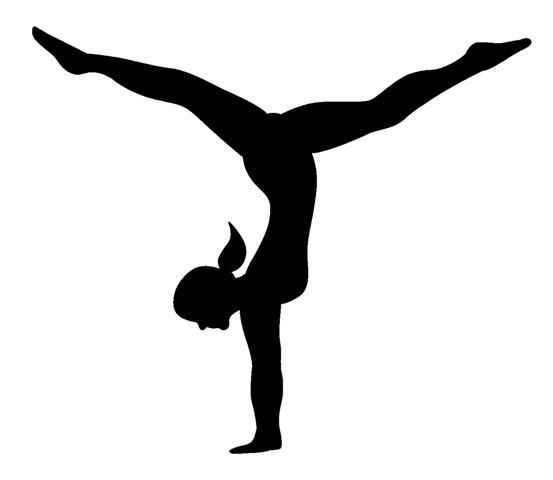 Tumbling images about gymnastics on gymnasts white clip art