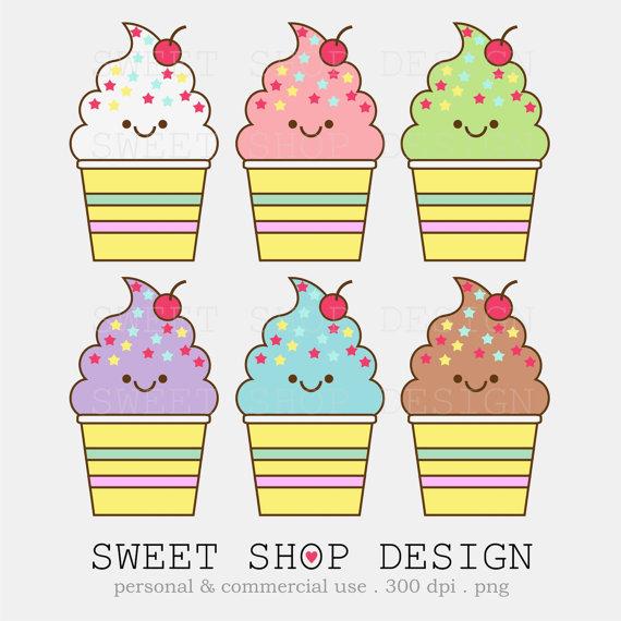 Ice cream  free kawaii ice cream clip art bakery baby shower