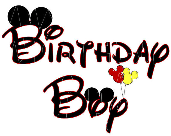 Mickey mouse birthday clipart free images 6