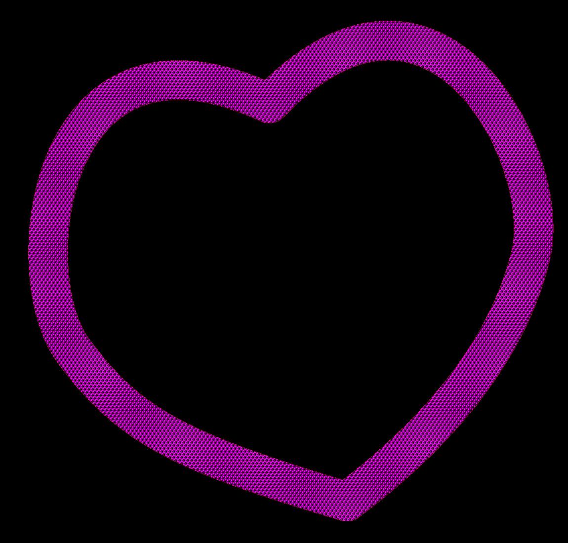 Purple heart clip art free clipart images 3