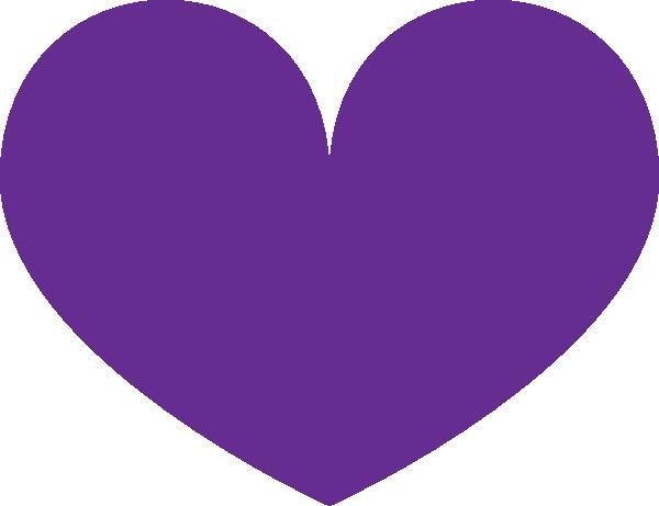 Purple heart clip art free clipart images