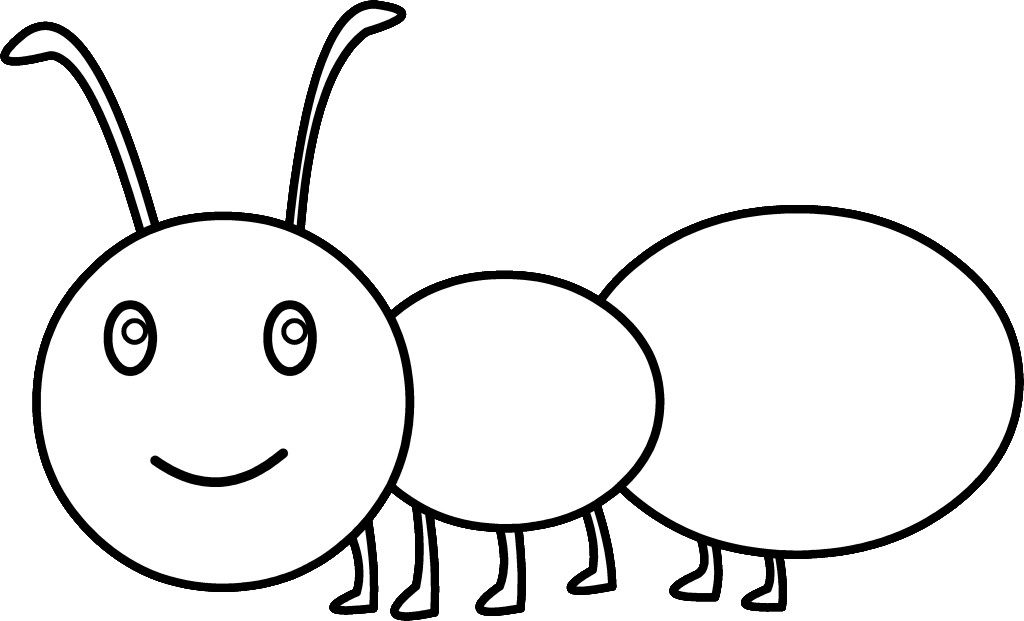 Ant  black and white ants clipart black and white the ant 7