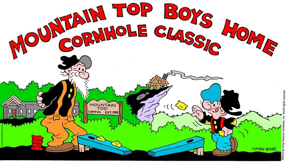 Corn hole classic barney google and snuffy smith clip art