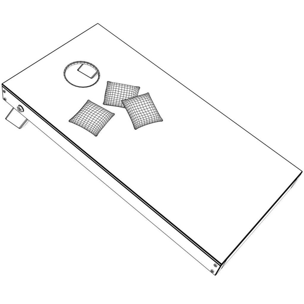 Corn hole cornhole clipart 5