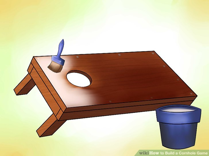Corn hole how to build a cornhole game with pictures wikihow clip art