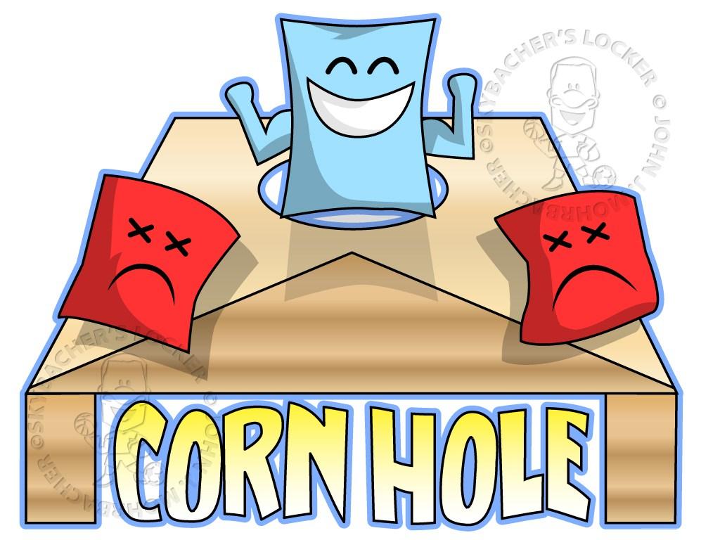 Corn hole logo free skybacher'locker clip art