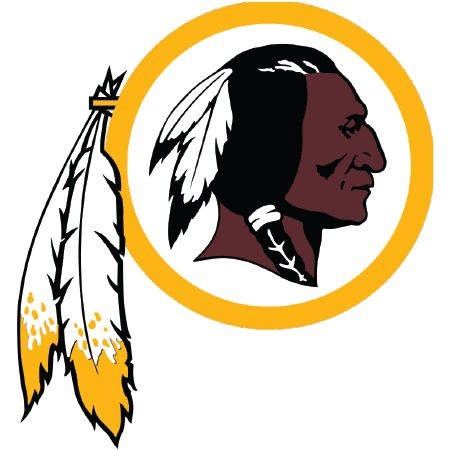 Corn hole washington redskins decals set of 2 cornhole board inch clipart