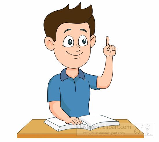 Student thinking clipart student biezumd