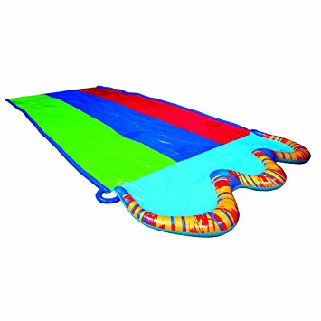 Banzai ft triple racer water slide with giant clipart