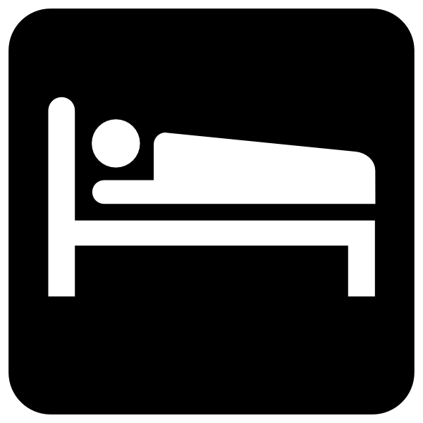 Bed  black and white bed clip art at vector clip art free