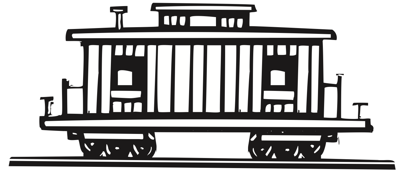 Caboose about us global peace train clip art