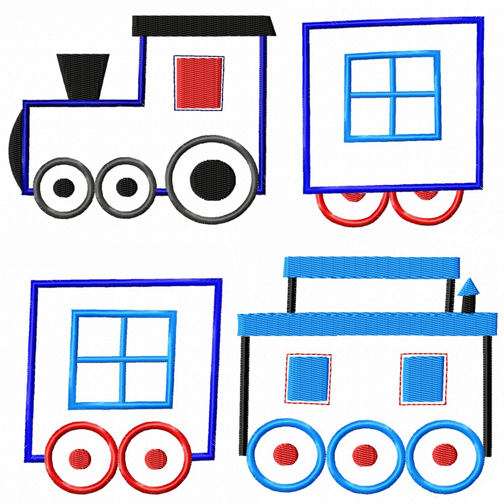 Caboose index of clip art library
