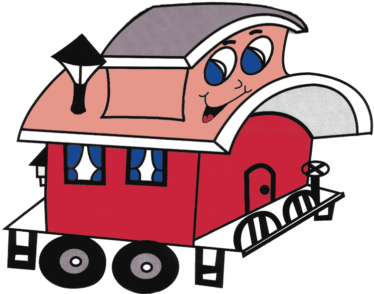 Caboose it'festival time news clipart