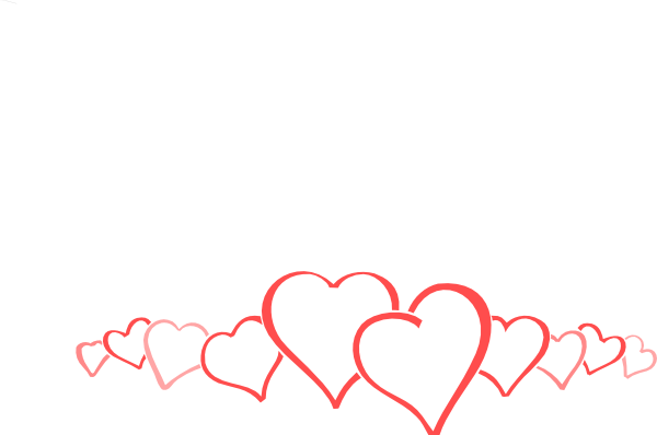 Double heart clipart image clip art library