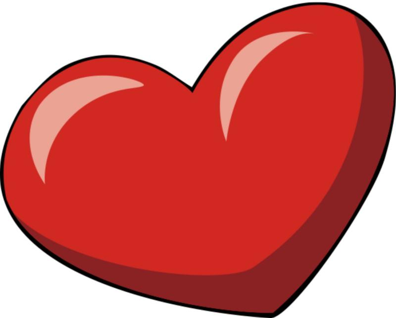 Double heart clipart images library clip art library