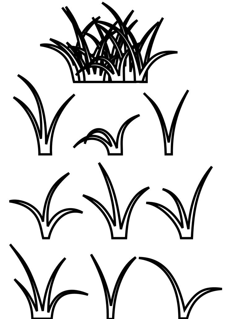 Grass  black and white small patch of grass images on grasses clip clip art