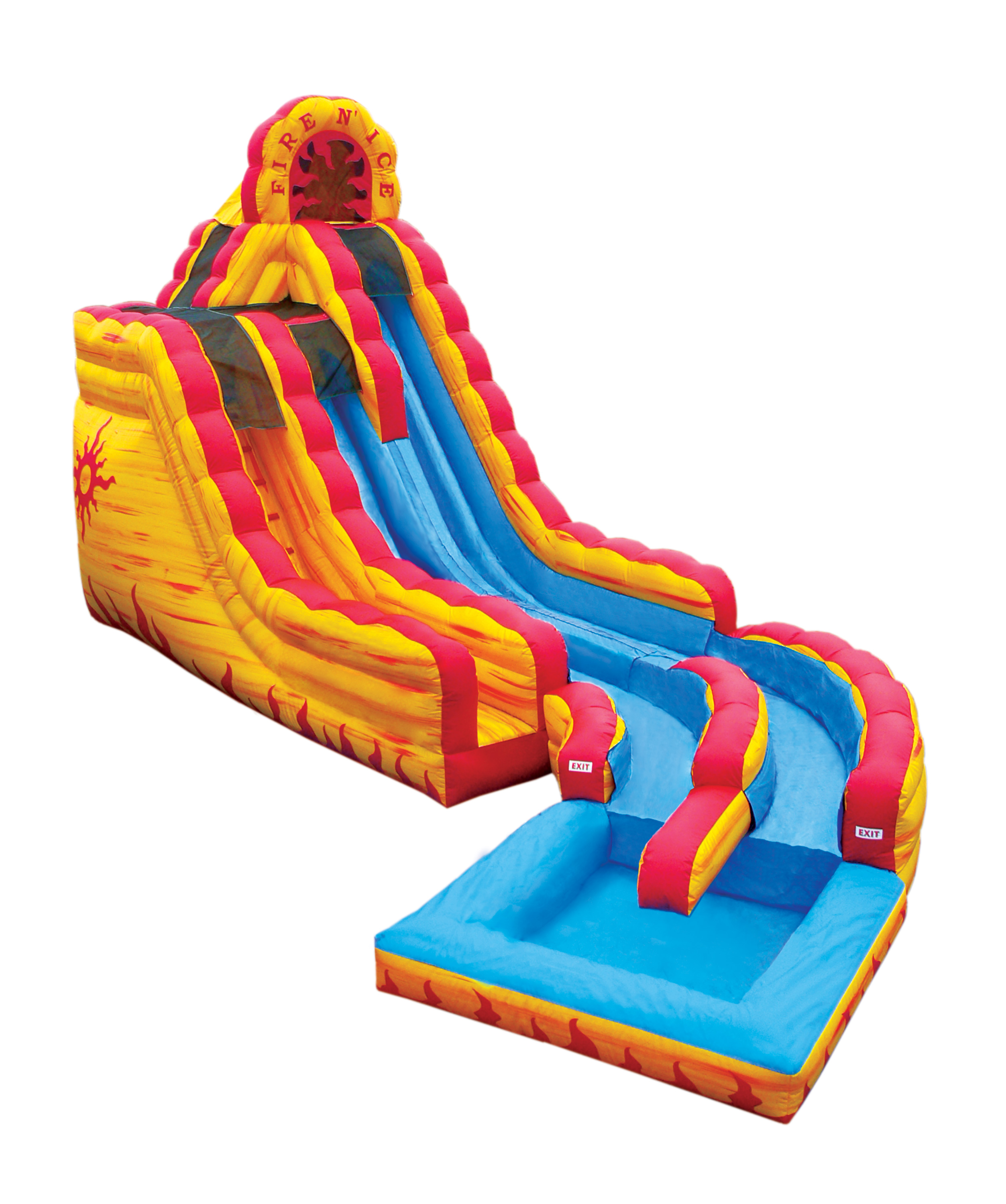 Inflatable water slide rentals in salt lake city utah all in fun clip art