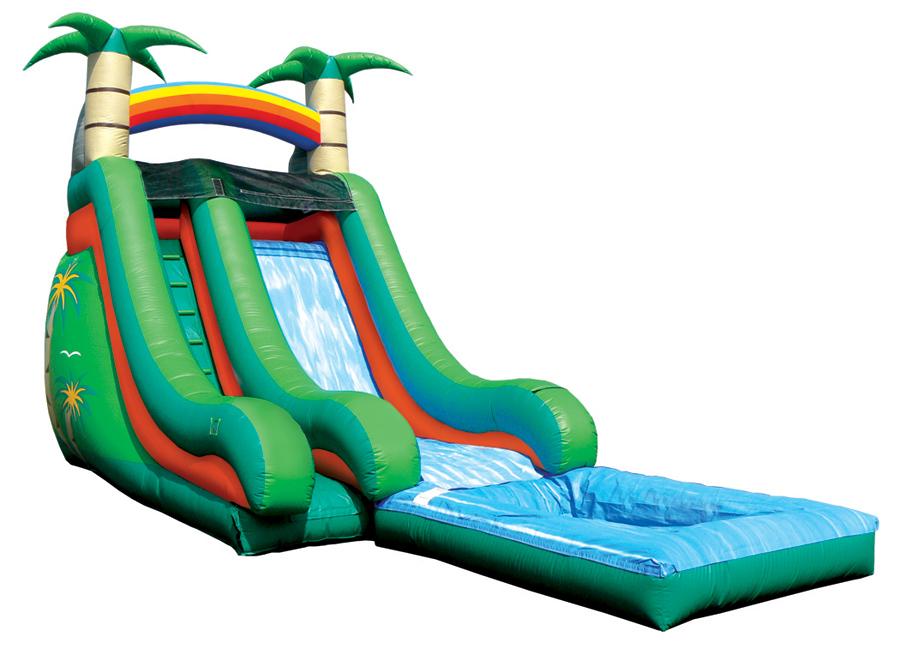 Inflatable water slides jumpapalooza okc clip art