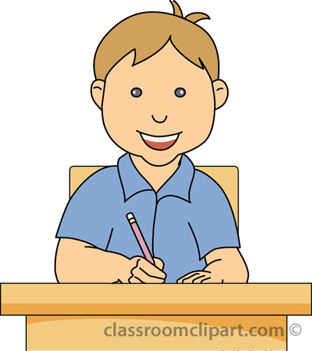 Student working student writing clipart free clipground