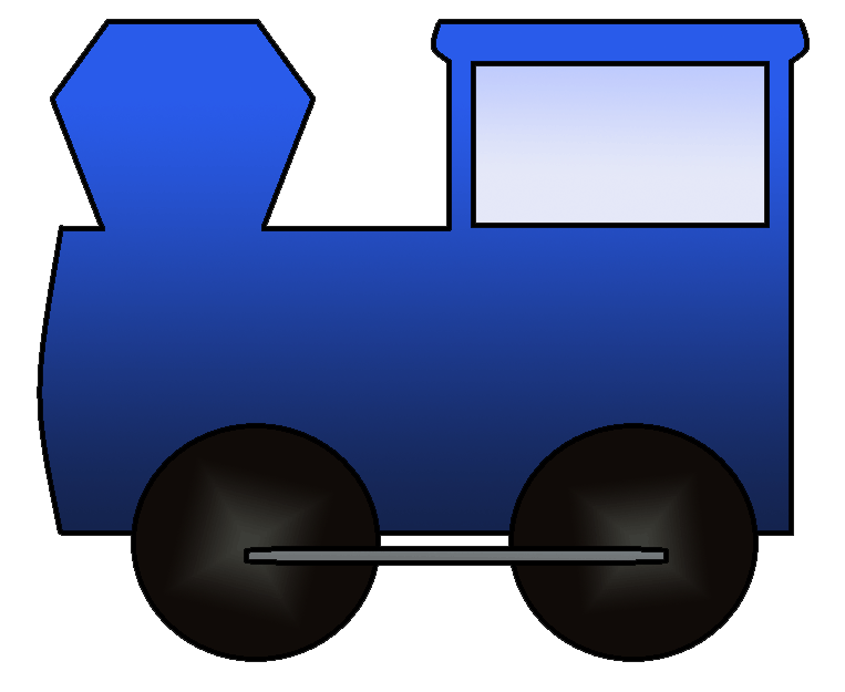Train engine and caboose clipart cliparts and others art inspiration
