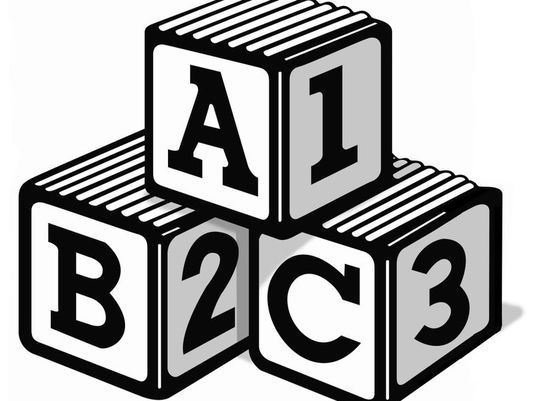 Abc blocks 9 clip art images on clipart black and