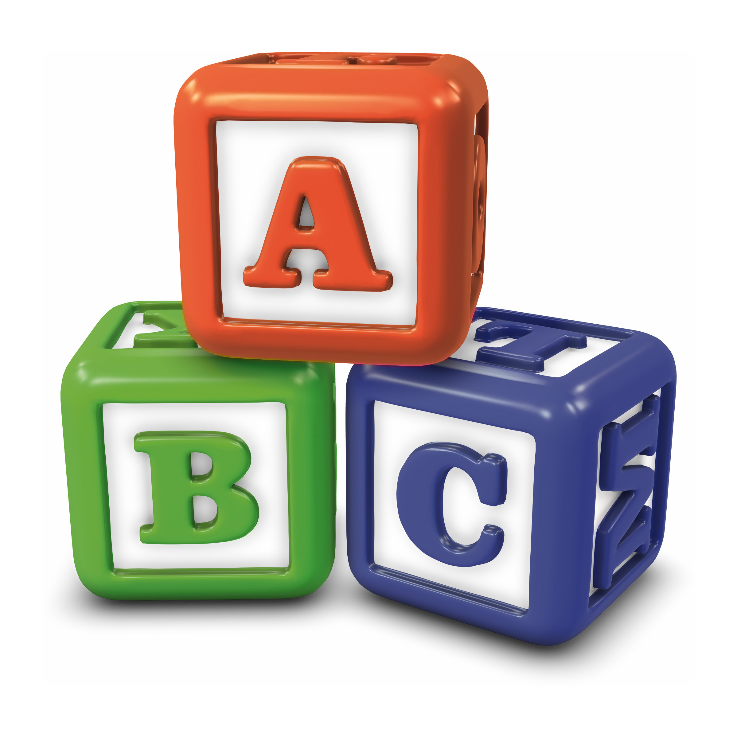 Abc blocks abc building blocks clipart clip art library