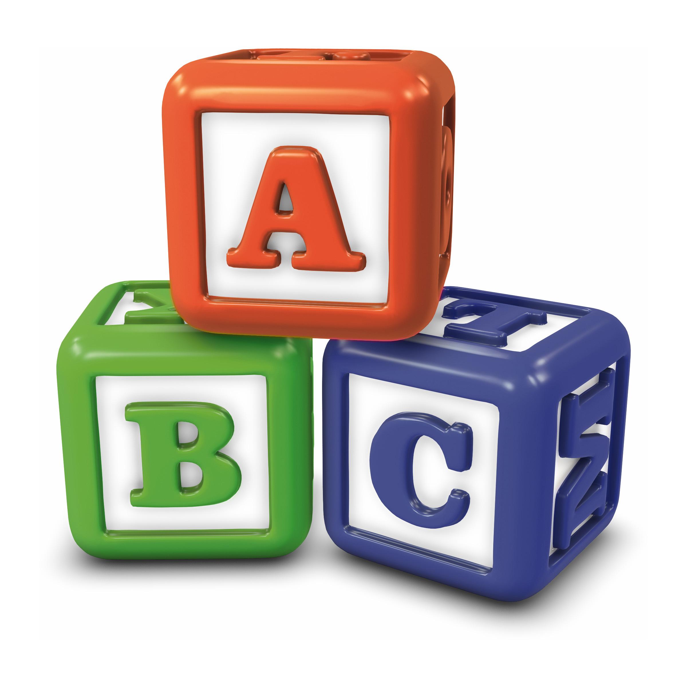 Abc blocks abc building blocks clipart clip art library