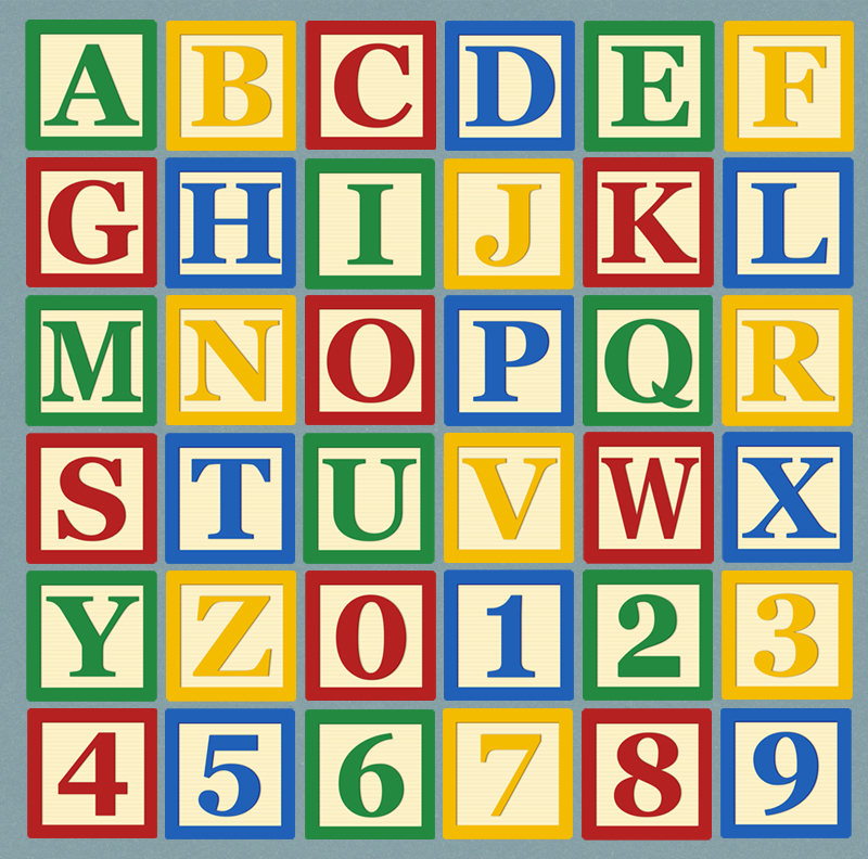 Abc blocks alphabet blocks clipart abc letter clip art