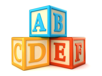 Abc blocks alphabet building blocks clipart clip art library