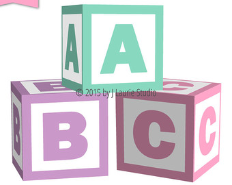 Abc blocks baby blocks cliparts free download clip art on