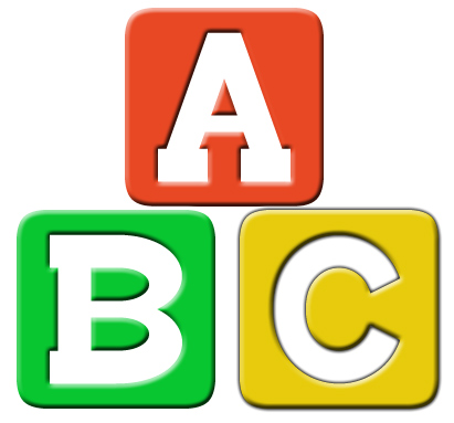 Abc blocks clip art clip art library
