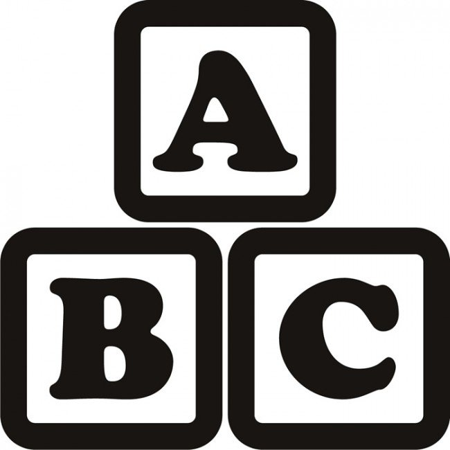 Abc blocks clipart black and white clip art library 3